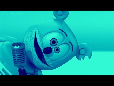 BLUE & CHIPMUNK VOICE Gummibär REQUEST VIDOE Russian HD Gummy BEar Song