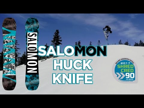 Salomon Huck Knife Snowboard Review – 2017 Salomon Snowboards Huck Knife Snowboard Review