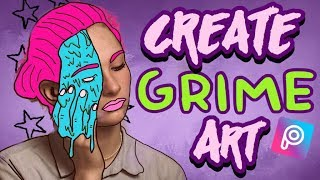 How to: Create Grime Art Using PicsArt