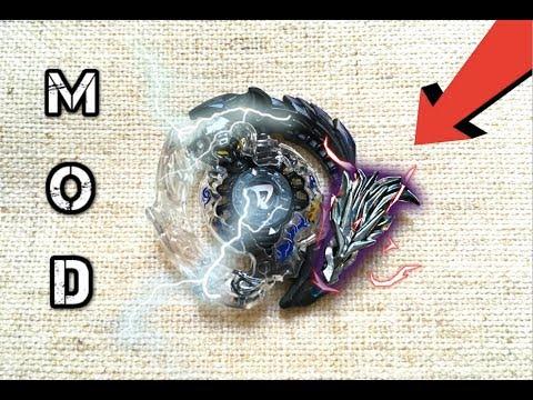 Dragon Fist Deathscyther Mod!! Beyblade Burst!!