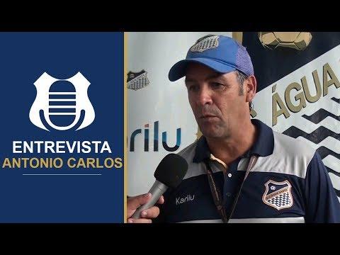 ENTREVISTA: Antonio Carlos - Água Santa 2x0 Ceará / Copa SP 2018