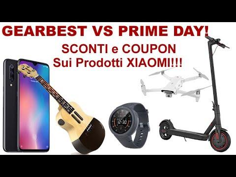 , title : 'GEARBEST VS PRIME DAY! Sconti e Coupon su Xiaomi mai Visti Prima!'
