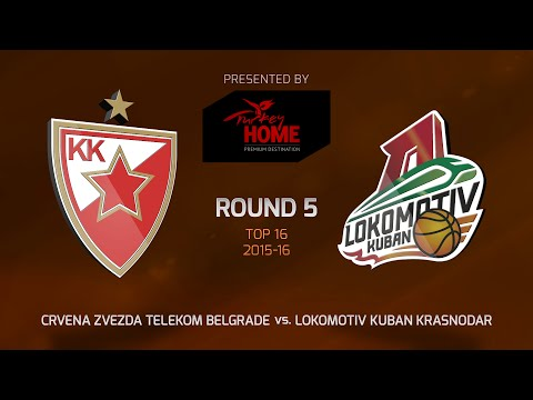 Highlights: Top 16, Round 5, Crvena Zvezda 80-66 Lokomotiv Kuban