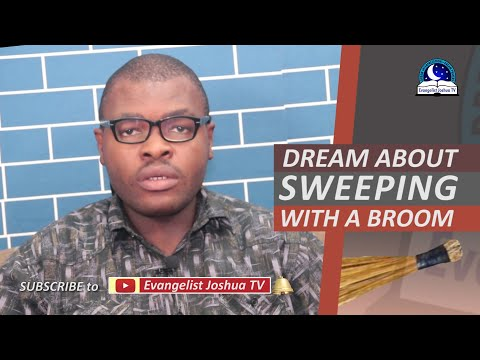 DREAM ABOUT SWEEPING WITH A BROOM - Find Out The Biblical Dream Meaning