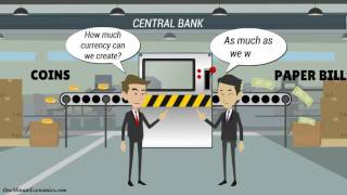 Central Banks and Commercial Banks Compared in One Minute
