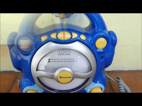 Karaoke SING-A-LONG per bambini con lettore CD Pocket Rocker Auna