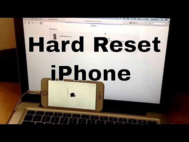 hard reset iphone 5c reset iphone 6 5s 5c 5 4s 4 reset to facto 6505