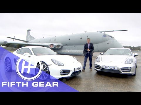 Fifth Gear: Porsche Cayman Automatic Vs Manual With Marcus Gronholm