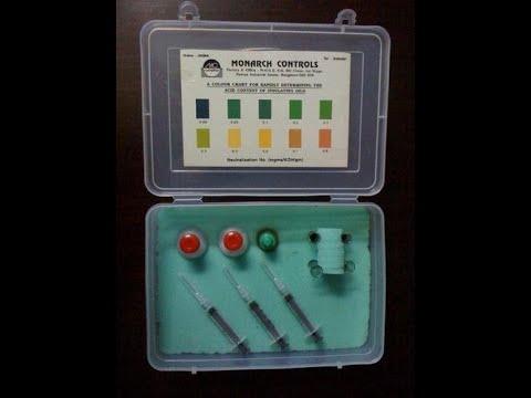 Transformer Oil Acidity Test Kit