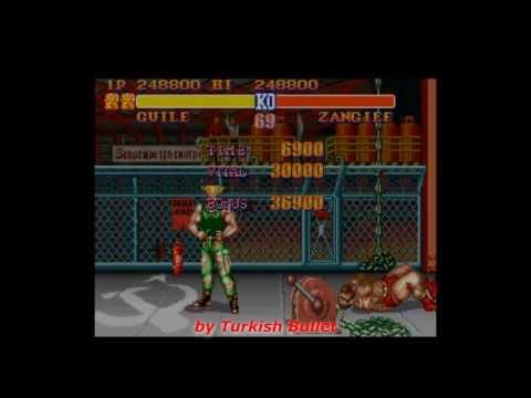 Street Fighter II: The World Warrior (World) (Super Nintendo) - (Longplay - Guile | Hardest)