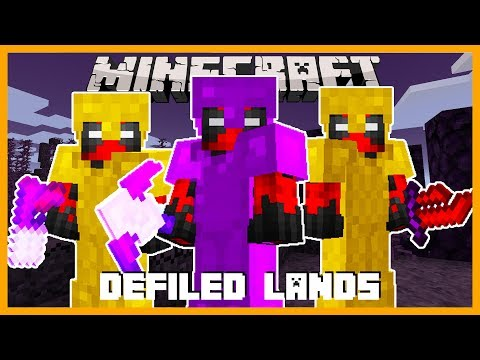 Minecraft - NEW BIOMES THE DEFILED LANDS!! CRAFT BRAND NEW WEAPONS AND ARMORS!!