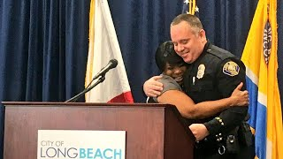 Woman Invites Officer Who Arrested Her to her College Graduation