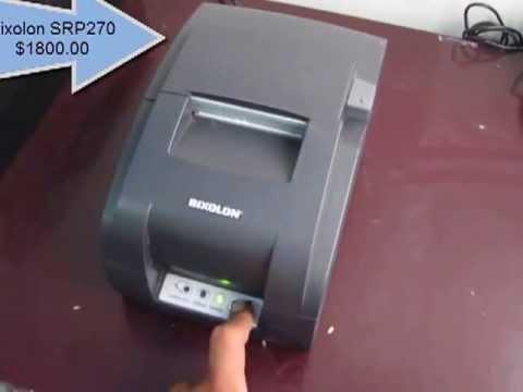 Refacciones para impresora de tickets, Miniprinter Bixolon SRP270