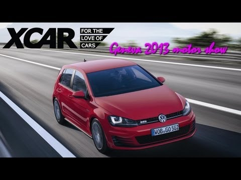 VW Golf GTD, Geneva 2013 Motor Show - XCAR