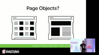 Writing Declarative, Maintainable Integration Tests Using Page Objects