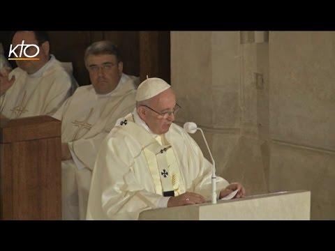 Le Pape, sainte Faustine et saint Jean-Paul II