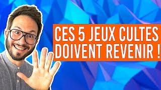 CES 5 JEUX VIDÉO CULTES DOIVENT REVENIR !!!