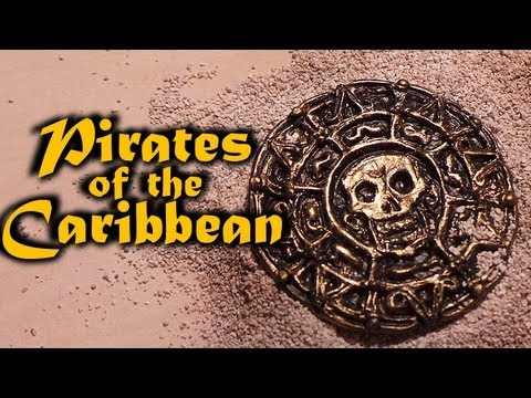 Polymer Clay; Pirates of the Caribbean Tutorial - Aztec coin