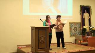 00130 Бхаджаны (религиозные песни) в исполнении преданных из Латвии, России и Индии