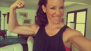 Evangeline Lilly Training/Workout For Ant-Man And The Wasp | Avengers