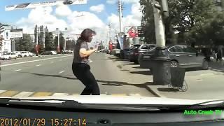 Подборка пешеходы идущие в рай ЖЕСТЬ Аварии с участием пешеходов #30