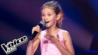 """Nina Kicińska - """"Naprawdę chcę"""" - Przesłuchania w ciemno - The Voice Kids 2 Poland"""