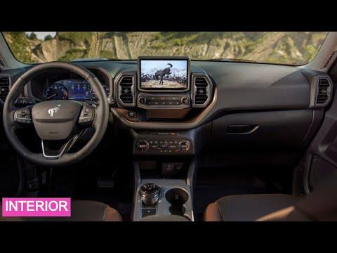 All New Ford Bronco 4 doors & 2 doors INTERIOR -2022