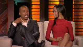 Зои Салдана, Lopez Tonight Zoe Saldana & Columbus Short (4212010)