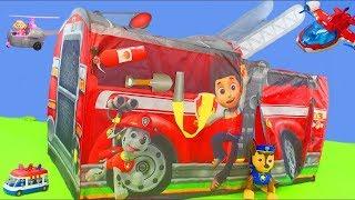 Psi Patrol zabawki - Chase, cięzarówka, strażak Marshall | Psi patrol dla dzieci