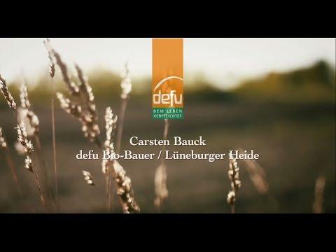 defu Bio-Bauer Carsten Bauck über Bio-Futter