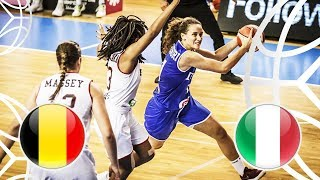 Belgium v Italy - Full Game - FIBA U18 Women's European Championship 2018
