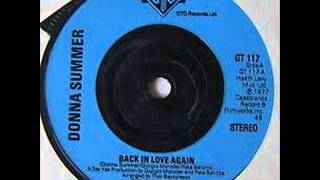 Donna Summer - Back In Love Again