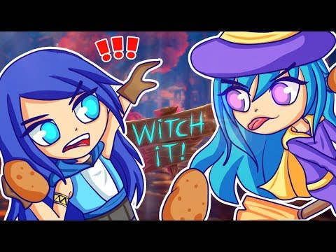 THROWING POTATOES AT MY FOES in Hide and Seek! (Witch It Funny Moments)