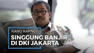 Rano Karno Singgung Tentang Banjir di Jakarta, Dibutuhkan Fokus dan Keseriusan