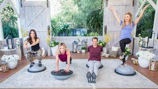 Bosu Ball Workout - Home & Family