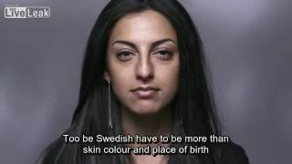 Government funded multicultural advertising campaign in Sweden