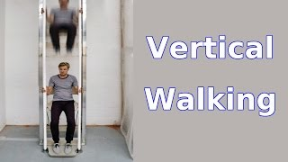 Vertical Walking - Manually powered Elevator uses 10% as much Energy as climbing Stairs | QPT
