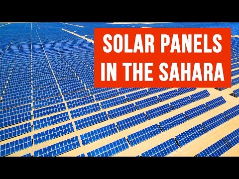 What If the Sahara Was Covered With Solar Panels?