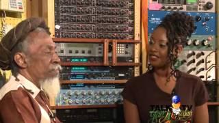 Exclusive interview with Bunny Wailer, in Empress' Studio