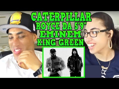 "MY DAD REACTS TO Royce da 5'9"" - Caterpillar ft. Eminem, King Green REACTION"