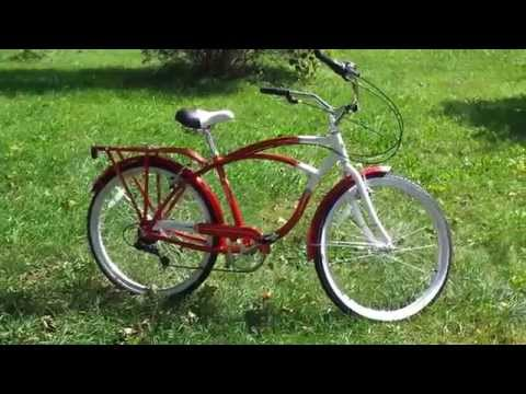 My new Schwinn Point Beach cruiser