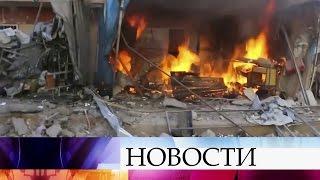 Серия взрывов прогремела всирийском городе Хомс.