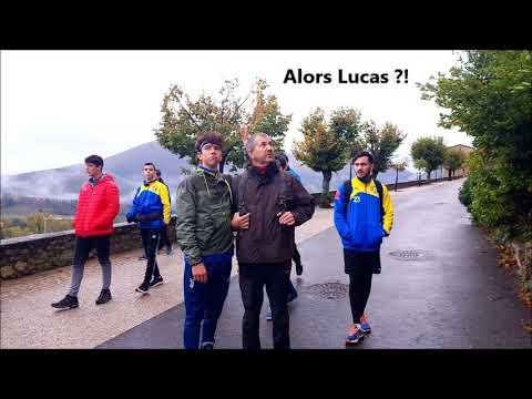 Stage des U17 garçons du Pays Apt Handball à Montbrun les Bains en novembre 2018