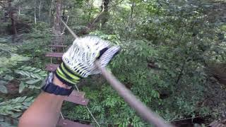 preview picture of video 'Krabi Tree Top Adventure Park - Blue course'