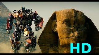 Optimus Prime Vs. Megatron & The Fallen   Transformers: Revenge Of The Fallen Movie Clip Blu Ray HD