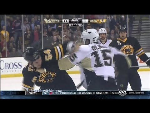 Tanner Glass vs Adam McQuaid