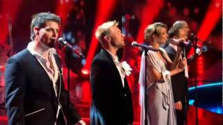 Boy Zone Performing Love Me For A Reason  2010 On Stephen Gately Tribute ITV
