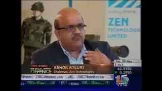 CNBC-TV18 Zen Technologies CMD Ashok Atluri on Make in India