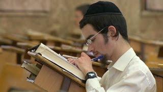 Ultra-Orthodox Jews in Israel put religious studies first