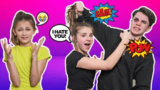 ARGUING IN FRONT OF My CRUSH To See HOW SHE REACTS PRANK **SHE CRIED**😡🥊| Jentzen Ramirez